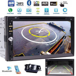 Car Audio Double 2Din Stereo Radio Multimedia Headunit 3 UI optional 7'' Touchscreen Bluetooth car DVD CD USB SD AM FM MP3