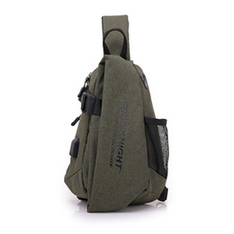 2018 USB Design Waist Bag Wallet Gift Large Capacity Handbag Hot-Selling Crossbody Bag Designer Travel Bag