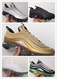 New All Aircushion Mesh Sports Sneakers Originals 2018 VaporMax and 97 OG Jointly All Aircushion Running Shoes
