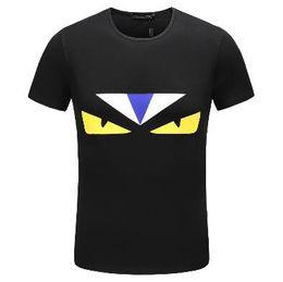 2018 Men's Spring Summer Casual Business T-shirt Classic Shirt Men's Shirt Classic Men's T-Shirt Trend T-Shirt 111