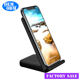 Wireless Charging Phone Stand Phone Wireless Receiver stand for Samsung Note 8 S8 S8 Plus ;Fast wireless charger for iPhone X 8