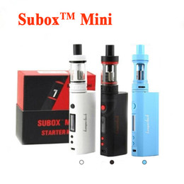 Kanger Subox Mini Starter Kit 50W OCC RBA Coil Subtank Mini KBOX Variable Wattage Box Mods E cigs kangertech vaporizer vape