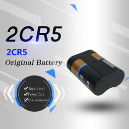 Us original import 2CR5 lithium battery 6V camera 2cr-5w  C1B camera 2CP3845 small size and large capacity
