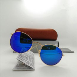 High quality big frame Brand Designer Fashion Men Women Coating Sunglasses UV Protection Sport Vintage Sun glasses Oval With box