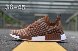 NMD R1 Primeknit Perfect Nmd Runner Shoes for Women Men2018 Wholesale Discount Cheap pink red gray NMD Runner R1 Primeknit PK Low