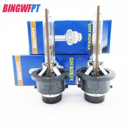 Hot selling New brand 4pcs lot D2R 66250 Car HID XENON BULB 12V 35W 4300K 5500K With color Box