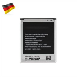 100% NEW OEM Li-ion Battery Replacement EB-F1M7FLU For Samsung Galaxy S3 Mini GT-i8190 1500mAh akku dhl ddp freeshipping Germany Stock