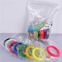 High-Quality ABS PLA Filament 1.75mm 3d filament 20 different colors 10 Meters each color for 3D printer pen 3d printing toys