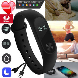 Sport Smart Band M2 Wristband Bracelet Heart Rate Fitness Tracker Sleep Monitor with Retail Box Intelligent Fitbit Smartband for IOS Xiaomi