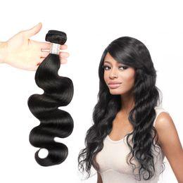 Fashionable Peruvian Body Wave Hair 100% Beautiful Human Hair Weave Bundles Can Buy 3 Bundles 8-30 Inches Human Hair Weaves