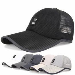 Direct Selling Men Women 2018 Summer Snapback Quick Dry Mesh Baseball Cap Sun Bone Breathable Hat 5 colours