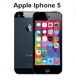 APPLE iPhone 5 Cell Phone iOS OS Dual core 1G RAM 16GB 32GB 64GB ROM 4.0 inch 8MP Camera WIFI GPS 3G refurbished Phone