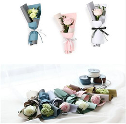 Korean Flower Waterproof Wrapping Paper Packaging Gift Wrapping Double Color Fog Florist Wrap Paper Flower Bouquet Supplies free shipping