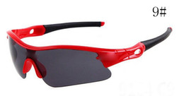 MOQ=10PCS summer newest men sport SUN glasses driving sunglasses Bicycle Glass woman fashion glasses 7colors A++ free shipping 9164