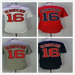 16 Andrew Benintendi Men's Baseball Jerseys Fashion Jersey White Blue Grey Red Size M-XXXL Men polo shirt