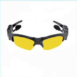 Wholesale High Quality Outdoor Sports Accessories Vehicle 4G Wireless Stereo Bluetooth Smart Polarized Sunglasses 4 Language Available