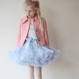 32 colors baby dress flower girl dress 2017 children's clothing children's net yarn skirts girls princess skirts Puff skirt wholesale