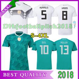 AAA+ 2018 world cup home away soccer jersey KROOS ozil HUMMELS WERNER muller sane maillot de foot custom national team men football shirts