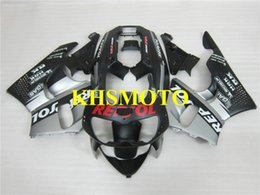 Motorcycle Fairing kit For HONDA CBR900RR 96 97 CBR 900 CBR 900RR 893 1996 1997 ABS Silver black Fairings set+7gifts