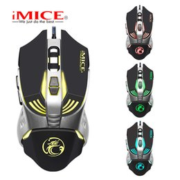 imice Gaming mouse Custom Computer 3200CPI 7 Buttons mouse game Ergonomic USB optical wired gaming mouse for PC Laptop
