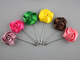 Fashion Artificial Flowers Wedding Bridal Corsage Handmade Flowers Bridemaid Boutonniere Wholesale Party Brooch Pin On Sale