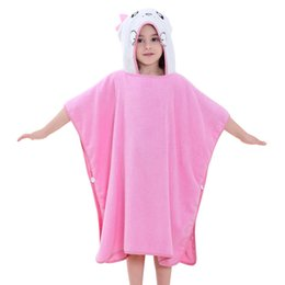 Baby Hooded Robes 2018 Summer Kids Animal Towels 6 Styles Cotton Comfortable Children Bathrobe New Arrival Baby Clothes