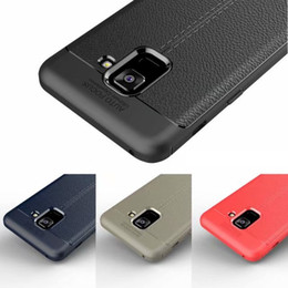 Rugged Armor TPU Case for XIAOMI 8 8 SE 6X REDMI S2 Note 5 pro MIX 2S REDMI 5 5 PLUS Anti Shock Absorption Leather Litchi pattern