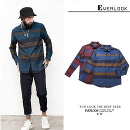 Man Shirt Long Sleeve Shirt Quality Goods Stripe Man Spring Pure Cotton Men's Shirt Business Affairs Easy Factory Direct