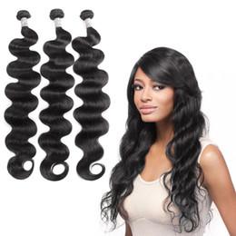 Unprocessed Brazilian Body Wave Hair Bundles Top Selling Brazilian Human Hair Weave 3 Bundles Fashionable Human Hair Weave Bundles