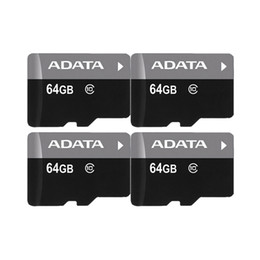 ADATA 100% Real Full Capacity 128gb 64gb 32gb 16gb 8gb 4GB C10 c6 TF Flash High Speed Memory Card + Free SD Adapter Retail Package