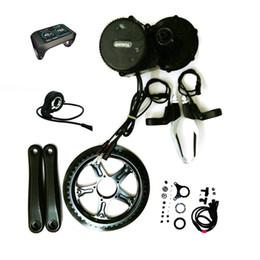 48v 500w 8Fun Bafang Motor BBS02 Crank Motor Eletric Bicycle Ebike Kits With 750C LCD