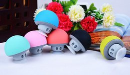 Wireless Mini Bluetooth Speaker Portable Mushroom Waterproof Stereo Bluetooth Speaker for Mobile Phone iPhone Xiaomi Computer free shipping