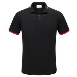 2018 Men's Spring Summer Casual Business T-shirt Classic Shirt Men's Shirt Classic Men's T-Shirt Trend T-Shirt 12331