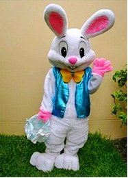 2018 Hot Professional Easter Bunny Mascot Costumes Rabbit Adult Bugs Bunny Free Shipping