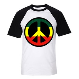 love and peace reggae circle logo bob marley fashion digital printing t shirt vintage band tee men women size tops 1 from sale
