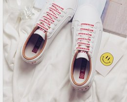 new spring summer and autumn woman causal student running Skateboard shoes lace up PU leather shoes US SIZE 4.5-8 8023