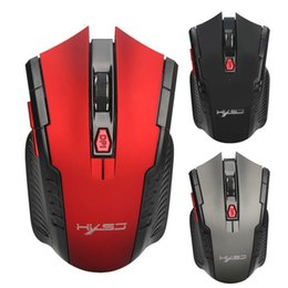 2018 best Wireless Mouse 6 Buttons Optical Mouse 2.4G Adjustable 2400DPI Wireless Gaming Mouse Gamer PC Mice for Computer Laptop