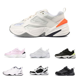 2018 Ultra Soft Thick Bottom Cushioning Running Sneakers Originals Monarch 4 M2k Tekno Genuine Leather Breathable Athletic Shoes