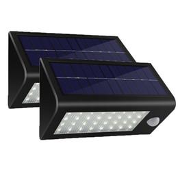400 Lumens Solar Lights Motion Sensor Light 32LED Waterproof Outdoor Wireless Wall Step Pathway Porch Garden Street Security Light