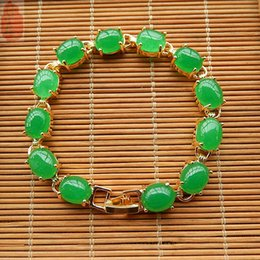 Natural Malay jade exquisite jasper bracelet fashion female models jade bracelet jewelry