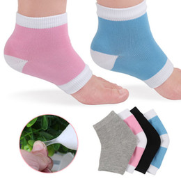 Cross border best seller 4 color nylon stockings moisturizing gel heel socks wholesale