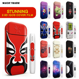 High Quality Relief Printing IQOS Skin Sticker 2.5D For IQOS 2.4 Plus 3M Cover PVC IQOS Skin Case Sleeve Decorative Protective Sticker