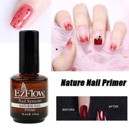 primer BASE COAT 14ML Nail Art Soak Off Color for UV Gel Polish acrylics 0.5fl oz gel EZFlow Bonder