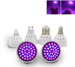 3W Plant Growing Lamp GU10 Red Blue Plant Growing Lamp E27 E14 36SMD Nursery Vegetable Fill Light