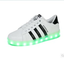 New LED luminous shoes unisex sneakers men & women sneakers USB charging light shoes colorful glowing leisure shoes hot sell 36-44
