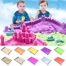Play Sand Slime Mud Indoor Toy DIY Intelligent Elasticity Environmental protection Thinking Putty Creative Smart Hand Gum OPP BAG Healthy