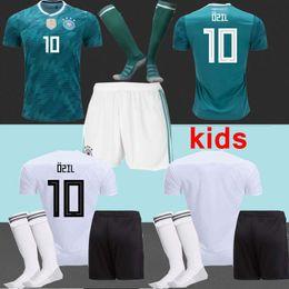 2018 Deutschland Germany world jersey kits KIDS child home Hummels Soccer Jersey 13 MULLER 10 OZIL 8 KROOS 19 GOTZE