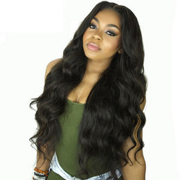 Lace Front Human Hair Wigs Indian Virgin Hair Body Wave Gluess Full Lace Pre Plucked Wig With Baby Hair