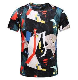2018 Men's Spring Summer Casual Business T-shirt Classic Shirt Men's Shirt Classic Men's T-Shirt Trend T-Shirt 285569