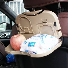 car drink holder tray,Car plate in the back for food,drink,collapsible plate,Let your journey no longer worry.Suitable for a long travel